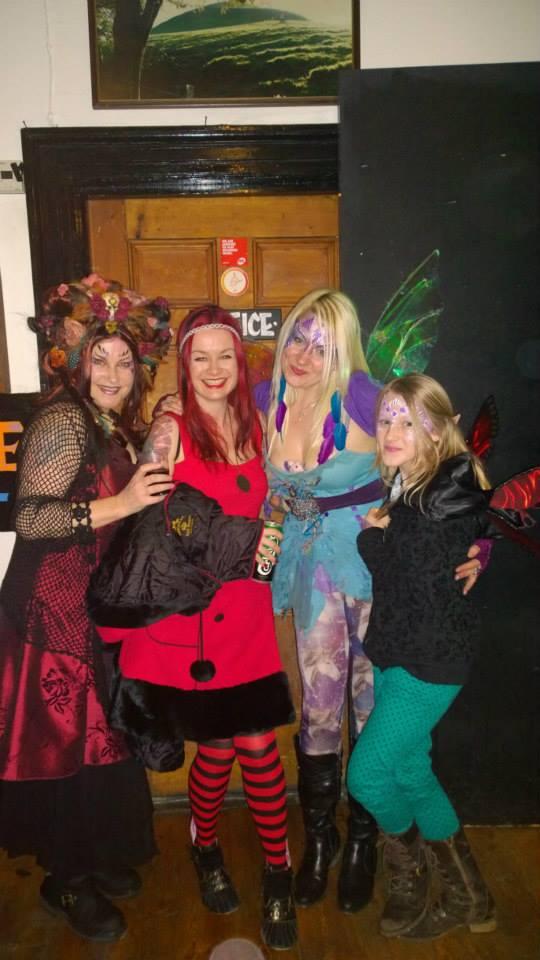 Tara Fae, Laura Daligan, Armorel Hamilton + Lily
