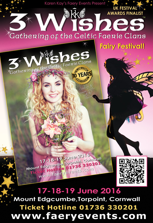 3WFF 2016 NEW A very warm welcome to Karen Kays Faery Events