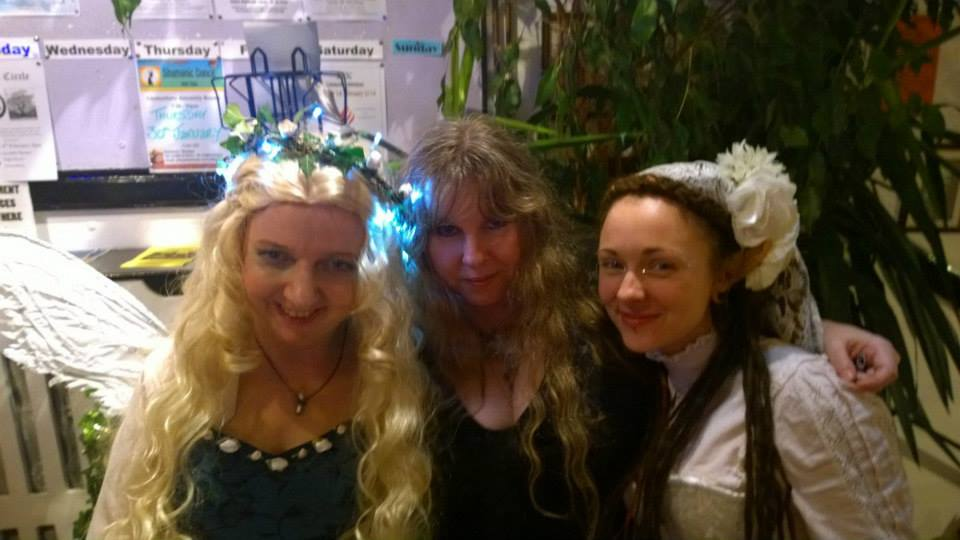 Juliet, Karen Kay, and Trixie Belle at the Ball!
