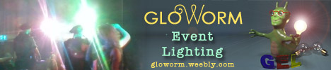 Gloworm Event Lighting Lighing up all your performing needs!
