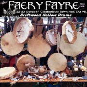 October2016 Driftwood Hollow Drums 180x180 October Faery Fayre