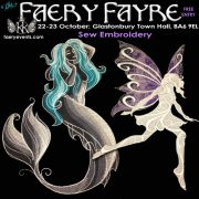 October2016 SewEmbroidery 180x180 October Faery Fayre