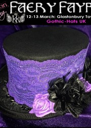 Spring 2016 Gothic Hats 180x252 Avalon Spring Faery Fayre and Ball