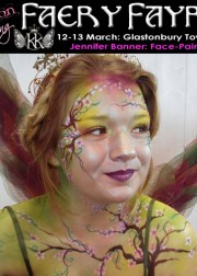 Spring 2016 Jennifer face painting 180x252 Avalon Spring Faery Fayre and Ball