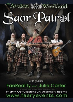 Friday night Saor Patrol at the Assembly Rooms