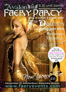 New Years Eve Faery Party – NYE 2014
